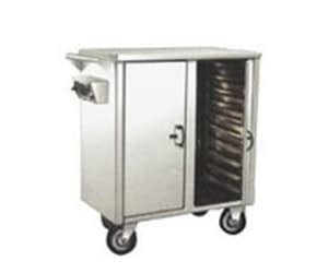 Trolley for serving patient