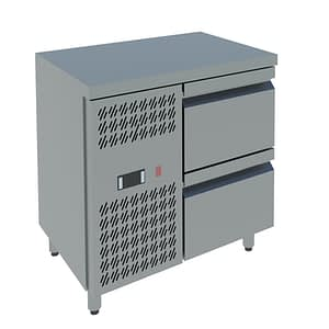 two drawers counter freezer india