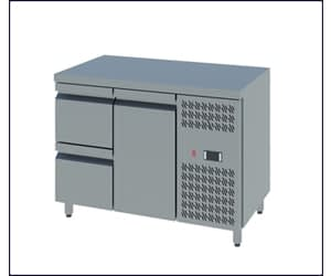 Counter Chillers with Doors and Drawers