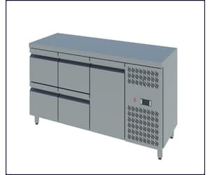 Counter Freezers with Doors and Drawers