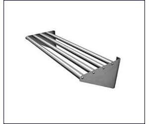SS Pipe Wall Shelves