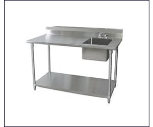Work Tables, Sinks & Counters