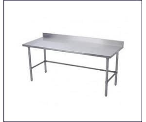 Work Tables with Side Bracing on Three Sides
