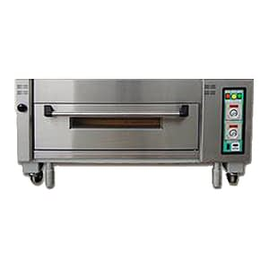 Single deck electric baking oven