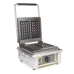 ROLLER GRILL ELECTRIC SINGLE WAFFLE IRON, GES 20