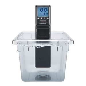 POLYSCIENCE SOUS VIDE PROFESSIONAL CHEF SERIES IMMERSION CIRCULATOR WITH POLYCARBONATE 18 LITRE TANK AND LID, SVC-AC2E