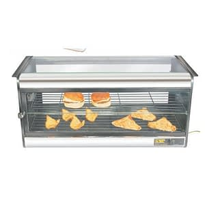 commercial hot cases for cafe and bakery