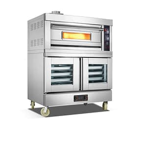 gas baking oven single deck